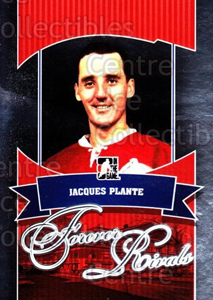 2012-13 ITG Forever Rivals #15 Jacques Plante<br/>2 In Stock - $5.00 each - <a href=https://centericecollectibles.foxycart.com/cart?name=2012-13%20ITG%20Forever%20Rivals%20%2315%20Jacques%20Plante...&quantity_max=2&price=$5.00&code=647846 class=foxycart> Buy it now! </a>