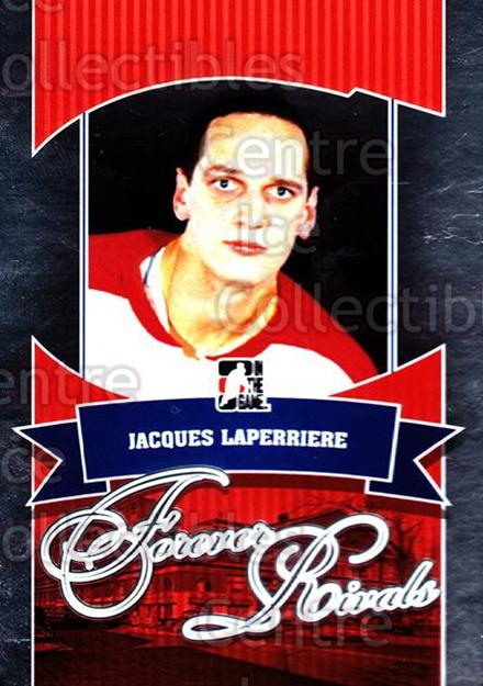 2012-13 ITG Forever Rivals #25 Jacques Laperriere<br/>2 In Stock - $3.00 each - <a href=https://centericecollectibles.foxycart.com/cart?name=2012-13%20ITG%20Forever%20Rivals%20%2325%20Jacques%20Laperri...&quantity_max=2&price=$3.00&code=647856 class=foxycart> Buy it now! </a>