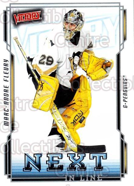 2006-07 UD Victory Next in Line #40 Marc-Andre Fleury<br/>1 In Stock - $3.00 each - <a href=https://centericecollectibles.foxycart.com/cart?name=2006-07%20UD%20Victory%20Next%20in%20Line%20%2340%20Marc-Andre%20Fleu...&quantity_max=1&price=$3.00&code=648094 class=foxycart> Buy it now! </a>