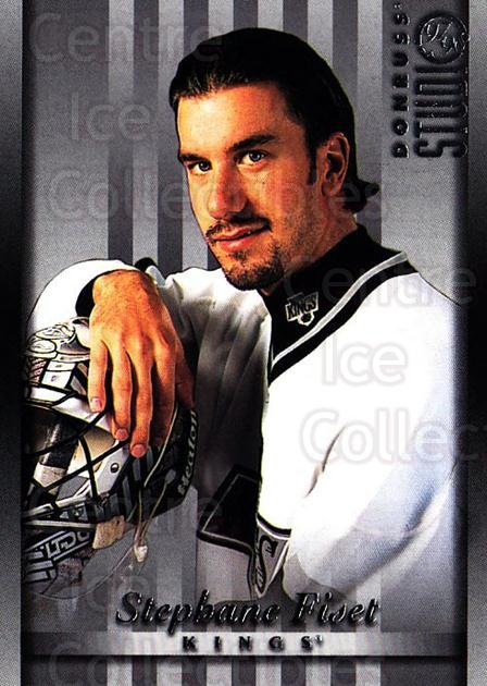 1997-98 Studio #52 Stephane Fiset<br/>6 In Stock - $1.00 each - <a href=https://centericecollectibles.foxycart.com/cart?name=1997-98%20Studio%20%2352%20Stephane%20Fiset...&quantity_max=6&price=$1.00&code=64873 class=foxycart> Buy it now! </a>