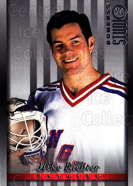 1997-98 Studio #59 Mike Richter<br/>6 In Stock - $1.00 each - <a href=https://centericecollectibles.foxycart.com/cart?name=1997-98%20Studio%20%2359%20Mike%20Richter...&quantity_max=6&price=$1.00&code=64880 class=foxycart> Buy it now! </a>