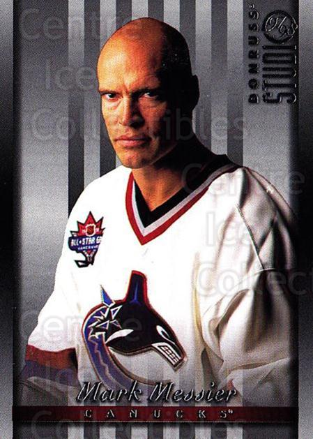 1997-98 Studio #9 Mark Messier<br/>7 In Stock - $1.00 each - <a href=https://centericecollectibles.foxycart.com/cart?name=1997-98%20Studio%20%239%20Mark%20Messier...&quantity_max=7&price=$1.00&code=64912 class=foxycart> Buy it now! </a>