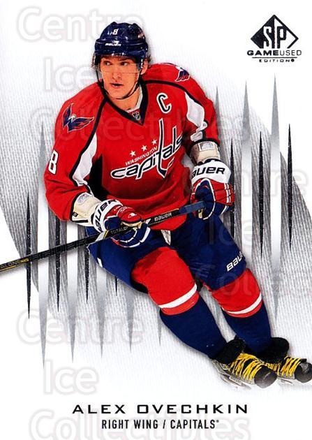 2013-14 Sp Game Used #3 Alexander Ovechkin<br/>3 In Stock - $3.00 each - <a href=https://centericecollectibles.foxycart.com/cart?name=2013-14%20Sp%20Game%20Used%20%233%20Alexander%20Ovech...&price=$3.00&code=649255 class=foxycart> Buy it now! </a>