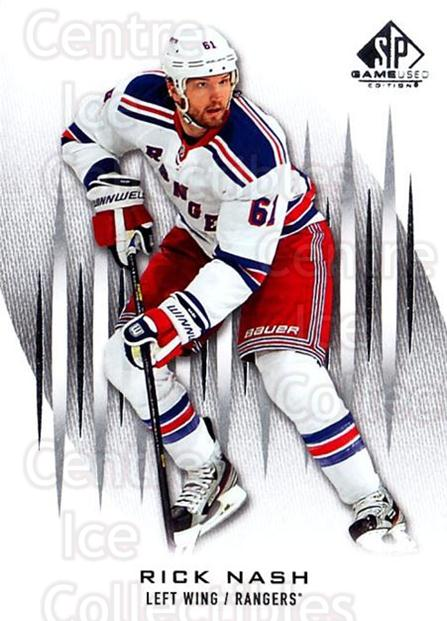 2013-14 Sp Game Used #38 Rick Nash<br/>3 In Stock - $1.00 each - <a href=https://centericecollectibles.foxycart.com/cart?name=2013-14%20Sp%20Game%20Used%20%2338%20Rick%20Nash...&quantity_max=3&price=$1.00&code=649290 class=foxycart> Buy it now! </a>