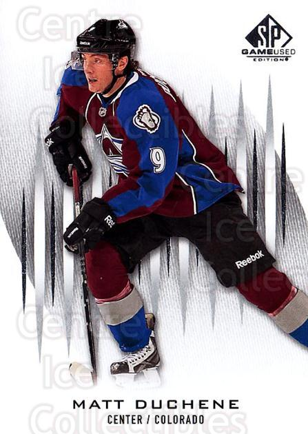2013-14 Sp Game Used #75 Matt Duchene<br/>5 In Stock - $1.00 each - <a href=https://centericecollectibles.foxycart.com/cart?name=2013-14%20Sp%20Game%20Used%20%2375%20Matt%20Duchene...&quantity_max=5&price=$1.00&code=649327 class=foxycart> Buy it now! </a>