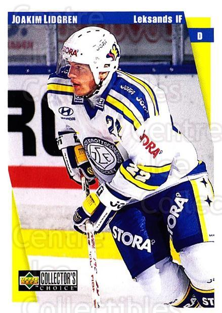 1997-98 Swedish Collectors Choice #106 Joakim Lidgren<br/>10 In Stock - $2.00 each - <a href=https://centericecollectibles.foxycart.com/cart?name=1997-98%20Swedish%20Collectors%20Choice%20%23106%20Joakim%20Lidgren...&quantity_max=10&price=$2.00&code=64943 class=foxycart> Buy it now! </a>