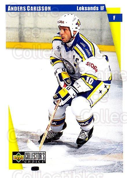 1997-98 Swedish Collectors Choice #109 Anders Carlsson<br/>10 In Stock - $2.00 each - <a href=https://centericecollectibles.foxycart.com/cart?name=1997-98%20Swedish%20Collectors%20Choice%20%23109%20Anders%20Carlsson...&quantity_max=10&price=$2.00&code=64946 class=foxycart> Buy it now! </a>