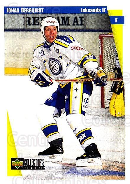 1997-98 Swedish Collectors Choice #113 Jonas Bergqvist<br/>12 In Stock - $2.00 each - <a href=https://centericecollectibles.foxycart.com/cart?name=1997-98%20Swedish%20Collectors%20Choice%20%23113%20Jonas%20Bergqvist...&quantity_max=12&price=$2.00&code=64951 class=foxycart> Buy it now! </a>
