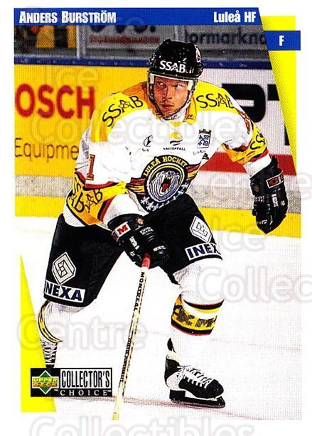 1997-98 Swedish Collectors Choice #129 Anders Burstrom<br/>11 In Stock - $2.00 each - <a href=https://centericecollectibles.foxycart.com/cart?name=1997-98%20Swedish%20Collectors%20Choice%20%23129%20Anders%20Burstrom...&quantity_max=11&price=$2.00&code=64968 class=foxycart> Buy it now! </a>