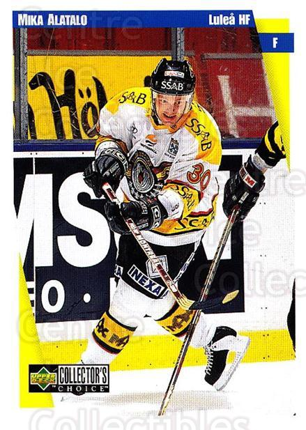 1997-98 Swedish Collectors Choice #131 Mika Alatalo<br/>6 In Stock - $2.00 each - <a href=https://centericecollectibles.foxycart.com/cart?name=1997-98%20Swedish%20Collectors%20Choice%20%23131%20Mika%20Alatalo...&quantity_max=6&price=$2.00&code=64971 class=foxycart> Buy it now! </a>