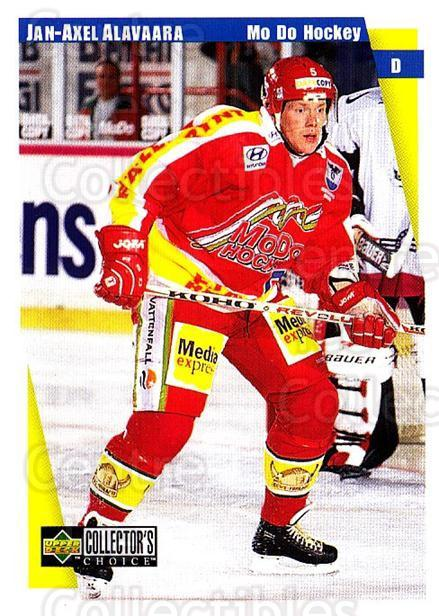 1997-98 Swedish Collectors Choice #151 Jan-Axel Alavaara<br/>6 In Stock - $2.00 each - <a href=https://centericecollectibles.foxycart.com/cart?name=1997-98%20Swedish%20Collectors%20Choice%20%23151%20Jan-Axel%20Alavaa...&quantity_max=6&price=$2.00&code=64991 class=foxycart> Buy it now! </a>