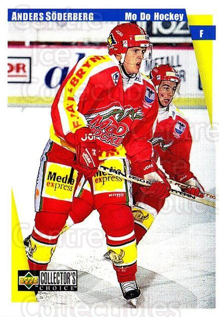 1997-98 Swedish Collectors Choice #158 Anders Soderberg<br/>10 In Stock - $2.00 each - <a href=https://centericecollectibles.foxycart.com/cart?name=1997-98%20Swedish%20Collectors%20Choice%20%23158%20Anders%20Soderber...&quantity_max=10&price=$2.00&code=64998 class=foxycart> Buy it now! </a>