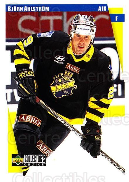 1997-98 Swedish Collectors Choice #16 Bjorn Ahlstrom<br/>11 In Stock - $2.00 each - <a href=https://centericecollectibles.foxycart.com/cart?name=1997-98%20Swedish%20Collectors%20Choice%20%2316%20Bjorn%20Ahlstrom...&quantity_max=11&price=$2.00&code=64999 class=foxycart> Buy it now! </a>