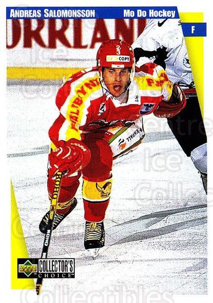 1997-98 Swedish Collectors Choice #163 Andreas Salomonsson<br/>8 In Stock - $2.00 each - <a href=https://centericecollectibles.foxycart.com/cart?name=1997-98%20Swedish%20Collectors%20Choice%20%23163%20Andreas%20Salomon...&quantity_max=8&price=$2.00&code=65002 class=foxycart> Buy it now! </a>