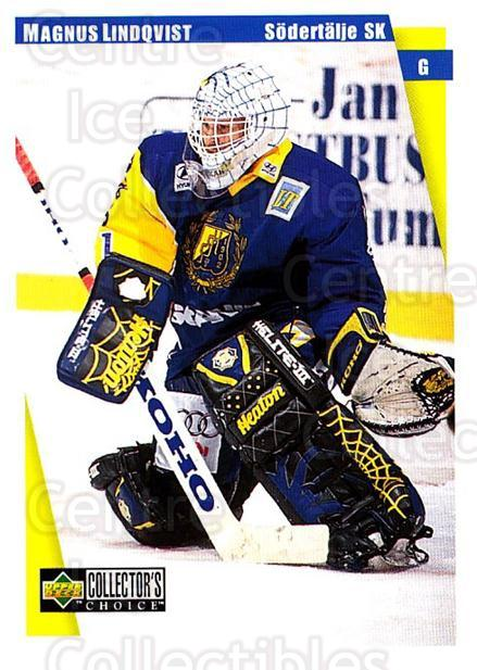 1997-98 Swedish Collectors Choice #166 Magnus Lindquist<br/>3 In Stock - $2.00 each - <a href=https://centericecollectibles.foxycart.com/cart?name=1997-98%20Swedish%20Collectors%20Choice%20%23166%20Magnus%20Lindquis...&quantity_max=3&price=$2.00&code=65005 class=foxycart> Buy it now! </a>
