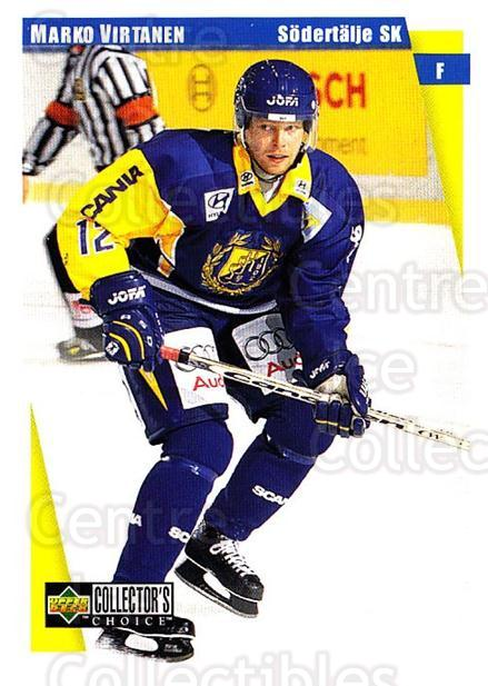 1997-98 Swedish Collectors Choice #172 Marko Virtanen<br/>12 In Stock - $2.00 each - <a href=https://centericecollectibles.foxycart.com/cart?name=1997-98%20Swedish%20Collectors%20Choice%20%23172%20Marko%20Virtanen...&quantity_max=12&price=$2.00&code=65011 class=foxycart> Buy it now! </a>