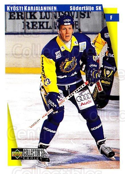 1997-98 Swedish Collectors Choice #173 Kyosti Karjalainen<br/>6 In Stock - $2.00 each - <a href=https://centericecollectibles.foxycart.com/cart?name=1997-98%20Swedish%20Collectors%20Choice%20%23173%20Kyosti%20Karjalai...&quantity_max=6&price=$2.00&code=65012 class=foxycart> Buy it now! </a>