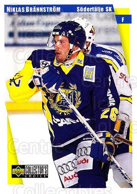 1997-98 Swedish Collectors Choice #179 Niklas Brannstrom<br/>9 In Stock - $2.00 each - <a href=https://centericecollectibles.foxycart.com/cart?name=1997-98%20Swedish%20Collectors%20Choice%20%23179%20Niklas%20Brannstr...&quantity_max=9&price=$2.00&code=65018 class=foxycart> Buy it now! </a>