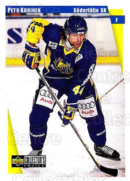 1997-98 Swedish Collectors Choice #181 Petr Korinek<br/>5 In Stock - $2.00 each - <a href=https://centericecollectibles.foxycart.com/cart?name=1997-98%20Swedish%20Collectors%20Choice%20%23181%20Petr%20Korinek...&quantity_max=5&price=$2.00&code=65021 class=foxycart> Buy it now! </a>