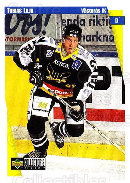 1997-98 Swedish Collectors Choice #183 Tobias Lilja<br/>7 In Stock - $2.00 each - <a href=https://centericecollectibles.foxycart.com/cart?name=1997-98%20Swedish%20Collectors%20Choice%20%23183%20Tobias%20Lilja...&quantity_max=7&price=$2.00&code=65023 class=foxycart> Buy it now! </a>