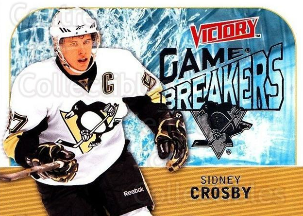 2009-10 UD Victory Game Breakers #1 Sidney Crosby<br/>2 In Stock - $5.00 each - <a href=https://centericecollectibles.foxycart.com/cart?name=2009-10%20UD%20Victory%20Game%20Breakers%20%231%20Sidney%20Crosby...&quantity_max=2&price=$5.00&code=650253 class=foxycart> Buy it now! </a>