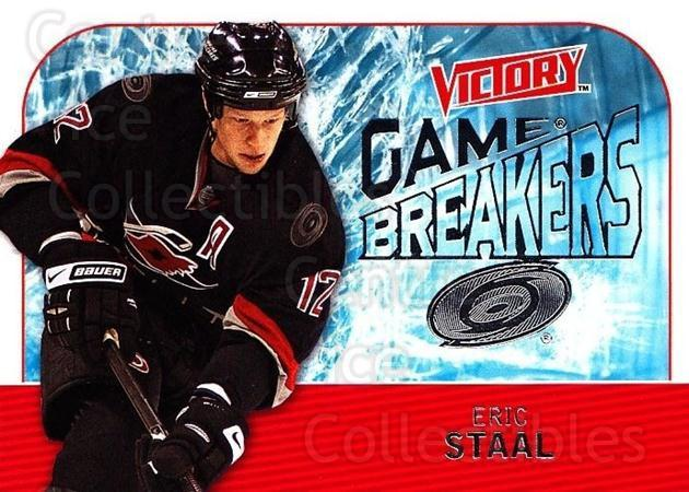2009-10 UD Victory Game Breakers #7 Eric Staal<br/>1 In Stock - $2.00 each - <a href=https://centericecollectibles.foxycart.com/cart?name=2009-10%20UD%20Victory%20Game%20Breakers%20%237%20Eric%20Staal...&quantity_max=1&price=$2.00&code=650259 class=foxycart> Buy it now! </a>