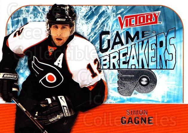 2009-10 UD Victory Game Breakers #8 Simon Gagne<br/>3 In Stock - $2.00 each - <a href=https://centericecollectibles.foxycart.com/cart?name=2009-10%20UD%20Victory%20Game%20Breakers%20%238%20Simon%20Gagne...&quantity_max=3&price=$2.00&code=650260 class=foxycart> Buy it now! </a>