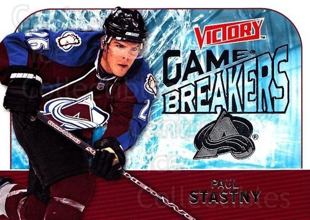 2009-10 UD Victory Game Breakers #9 Paul Stastny<br/>2 In Stock - $2.00 each - <a href=https://centericecollectibles.foxycart.com/cart?name=2009-10%20UD%20Victory%20Game%20Breakers%20%239%20Paul%20Stastny...&quantity_max=2&price=$2.00&code=650261 class=foxycart> Buy it now! </a>