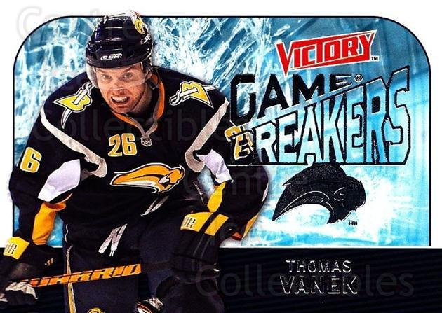 2009-10 UD Victory Game Breakers #10 Thomas Vanek<br/>2 In Stock - $2.00 each - <a href=https://centericecollectibles.foxycart.com/cart?name=2009-10%20UD%20Victory%20Game%20Breakers%20%2310%20Thomas%20Vanek...&quantity_max=2&price=$2.00&code=650262 class=foxycart> Buy it now! </a>