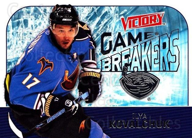 2009-10 UD Victory Game Breakers #13 Ilya Kovalchuk<br/>2 In Stock - $2.00 each - <a href=https://centericecollectibles.foxycart.com/cart?name=2009-10%20UD%20Victory%20Game%20Breakers%20%2313%20Ilya%20Kovalchuk...&quantity_max=2&price=$2.00&code=650265 class=foxycart> Buy it now! </a>
