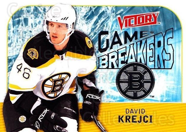2009-10 UD Victory Game Breakers #14 David Krejci<br/>2 In Stock - $2.00 each - <a href=https://centericecollectibles.foxycart.com/cart?name=2009-10%20UD%20Victory%20Game%20Breakers%20%2314%20David%20Krejci...&quantity_max=2&price=$2.00&code=650266 class=foxycart> Buy it now! </a>