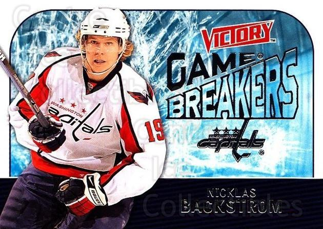 2009-10 UD Victory Game Breakers #38 Nicklas Backstrom<br/>3 In Stock - $2.00 each - <a href=https://centericecollectibles.foxycart.com/cart?name=2009-10%20UD%20Victory%20Game%20Breakers%20%2338%20Nicklas%20Backstr...&quantity_max=3&price=$2.00&code=650290 class=foxycart> Buy it now! </a>