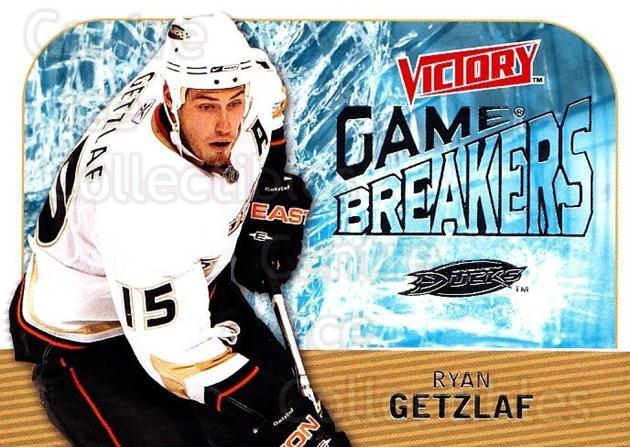 2009-10 UD Victory Game Breakers #40 Ryan Getzlaf<br/>2 In Stock - $2.00 each - <a href=https://centericecollectibles.foxycart.com/cart?name=2009-10%20UD%20Victory%20Game%20Breakers%20%2340%20Ryan%20Getzlaf...&quantity_max=2&price=$2.00&code=650292 class=foxycart> Buy it now! </a>