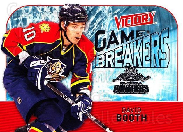 2009-10 UD Victory Game Breakers #42 David Booth<br/>2 In Stock - $2.00 each - <a href=https://centericecollectibles.foxycart.com/cart?name=2009-10%20UD%20Victory%20Game%20Breakers%20%2342%20David%20Booth...&quantity_max=2&price=$2.00&code=650294 class=foxycart> Buy it now! </a>
