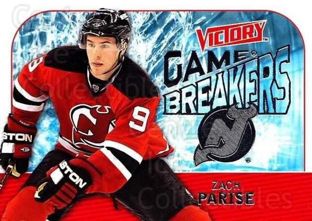 2009-10 UD Victory Game Breakers #45 Zach Parise<br/>3 In Stock - $2.00 each - <a href=https://centericecollectibles.foxycart.com/cart?name=2009-10%20UD%20Victory%20Game%20Breakers%20%2345%20Zach%20Parise...&quantity_max=3&price=$2.00&code=650297 class=foxycart> Buy it now! </a>
