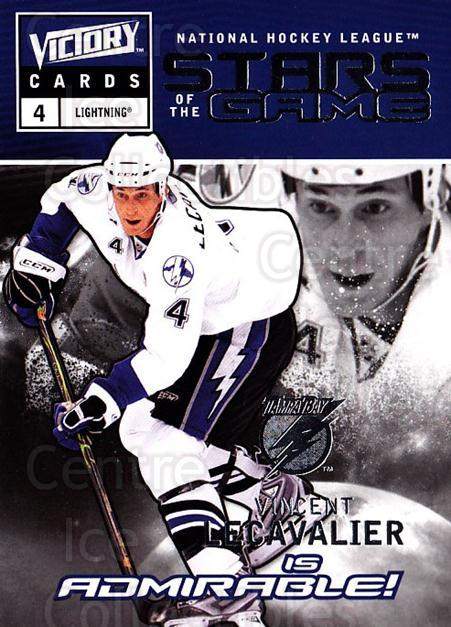 2009-10 UD Victory Stars of the Game #5 Vincent Lecavalier<br/>2 In Stock - $2.00 each - <a href=https://centericecollectibles.foxycart.com/cart?name=2009-10%20UD%20Victory%20Stars%20of%20the%20Game%20%235%20Vincent%20Lecaval...&quantity_max=2&price=$2.00&code=650307 class=foxycart> Buy it now! </a>