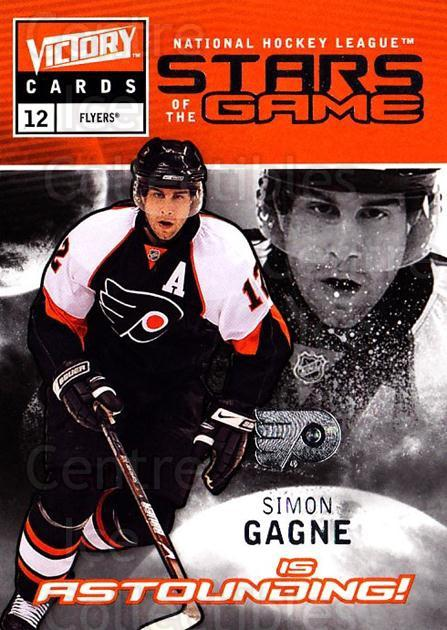 2009-10 UD Victory Stars of the Game #12 Simon Gagne<br/>3 In Stock - $2.00 each - <a href=https://centericecollectibles.foxycart.com/cart?name=2009-10%20UD%20Victory%20Stars%20of%20the%20Game%20%2312%20Simon%20Gagne...&quantity_max=3&price=$2.00&code=650314 class=foxycart> Buy it now! </a>