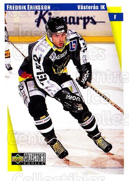 1997-98 Swedish Collectors Choice #191 Fredrik Eriksson<br/>5 In Stock - $2.00 each - <a href=https://centericecollectibles.foxycart.com/cart?name=1997-98%20Swedish%20Collectors%20Choice%20%23191%20Fredrik%20Eriksso...&quantity_max=5&price=$2.00&code=65031 class=foxycart> Buy it now! </a>