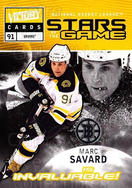 2009-10 UD Victory Stars of the Game #24 Marc Savard<br/>2 In Stock - $2.00 each - <a href=https://centericecollectibles.foxycart.com/cart?name=2009-10%20UD%20Victory%20Stars%20of%20the%20Game%20%2324%20Marc%20Savard...&quantity_max=2&price=$2.00&code=650326 class=foxycart> Buy it now! </a>