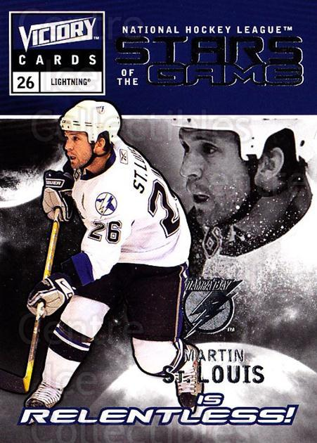 2009-10 UD Victory Stars of the Game #35 Martin St. Louis<br/>2 In Stock - $2.00 each - <a href=https://centericecollectibles.foxycart.com/cart?name=2009-10%20UD%20Victory%20Stars%20of%20the%20Game%20%2335%20Martin%20St.%20Loui...&quantity_max=2&price=$2.00&code=650337 class=foxycart> Buy it now! </a>