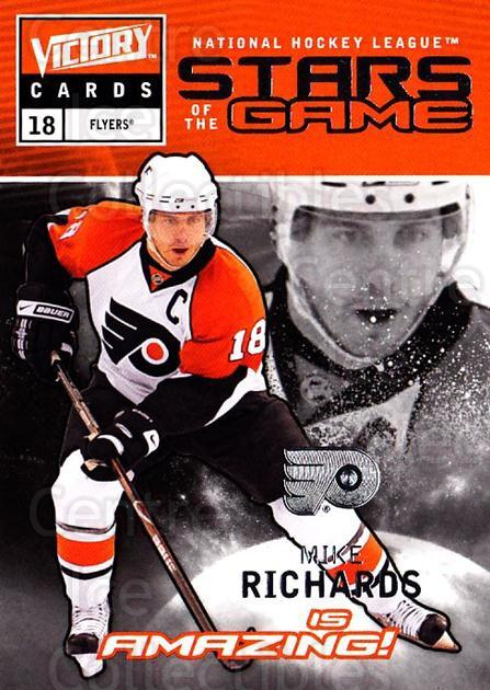 2009-10 UD Victory Stars of the Game #40 Mike Richards<br/>2 In Stock - $2.00 each - <a href=https://centericecollectibles.foxycart.com/cart?name=2009-10%20UD%20Victory%20Stars%20of%20the%20Game%20%2340%20Mike%20Richards...&quantity_max=2&price=$2.00&code=650342 class=foxycart> Buy it now! </a>