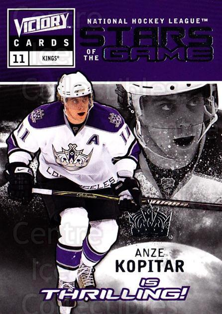 2009-10 UD Victory Stars of the Game #46 Anze Kopitar<br/>3 In Stock - $2.00 each - <a href=https://centericecollectibles.foxycart.com/cart?name=2009-10%20UD%20Victory%20Stars%20of%20the%20Game%20%2346%20Anze%20Kopitar...&quantity_max=3&price=$2.00&code=650348 class=foxycart> Buy it now! </a>