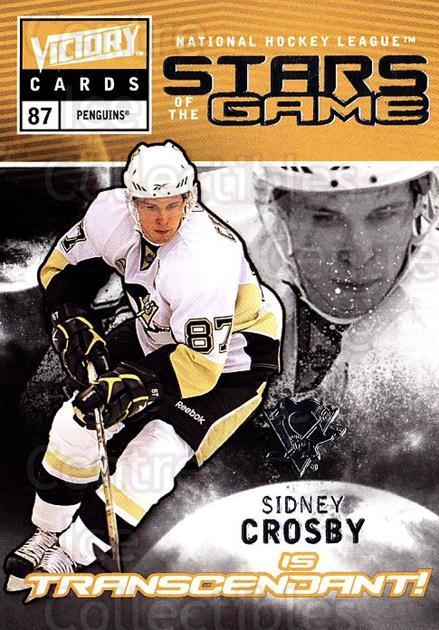 2009-10 UD Victory Stars of the Game #50 Sidney Crosby<br/>2 In Stock - $5.00 each - <a href=https://centericecollectibles.foxycart.com/cart?name=2009-10%20UD%20Victory%20Stars%20of%20the%20Game%20%2350%20Sidney%20Crosby...&quantity_max=2&price=$5.00&code=650352 class=foxycart> Buy it now! </a>
