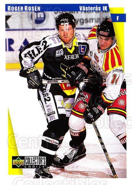 1997-98 Swedish Collectors Choice #195 Roger Rosen<br/>11 In Stock - $2.00 each - <a href=https://centericecollectibles.foxycart.com/cart?name=1997-98%20Swedish%20Collectors%20Choice%20%23195%20Roger%20Rosen...&quantity_max=11&price=$2.00&code=65035 class=foxycart> Buy it now! </a>