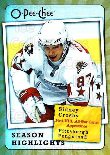 2007-08 O-Pee-Chee Season Highlights #15 Sidney Crosby<br/>2 In Stock - $5.00 each - <a href=https://centericecollectibles.foxycart.com/cart?name=2007-08%20O-Pee-Chee%20Season%20Highlights%20%2315%20Sidney%20Crosby...&quantity_max=2&price=$5.00&code=650367 class=foxycart> Buy it now! </a>
