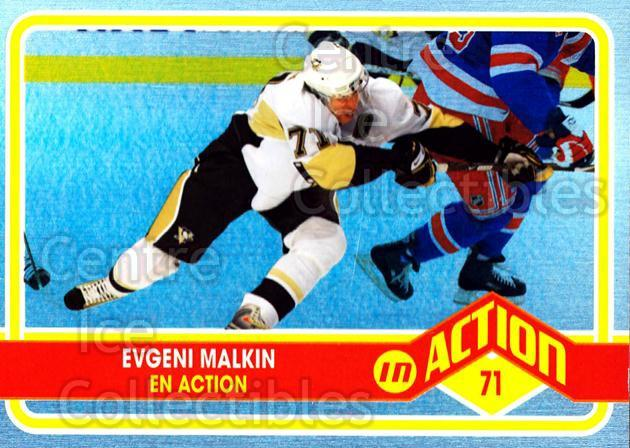 2009-10 O-pee-chee In Action #2 Evgeni Malkin<br/>1 In Stock - $3.00 each - <a href=https://centericecollectibles.foxycart.com/cart?name=2009-10%20O-pee-chee%20In%20Action%20%232%20Evgeni%20Malkin...&quantity_max=1&price=$3.00&code=650412 class=foxycart> Buy it now! </a>