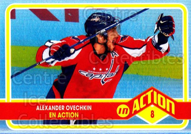 2009-10 O-pee-chee In Action #3 Alexander Ovechkin<br/>1 In Stock - $3.00 each - <a href=https://centericecollectibles.foxycart.com/cart?name=2009-10%20O-pee-chee%20In%20Action%20%233%20Alexander%20Ovech...&quantity_max=1&price=$3.00&code=650413 class=foxycart> Buy it now! </a>