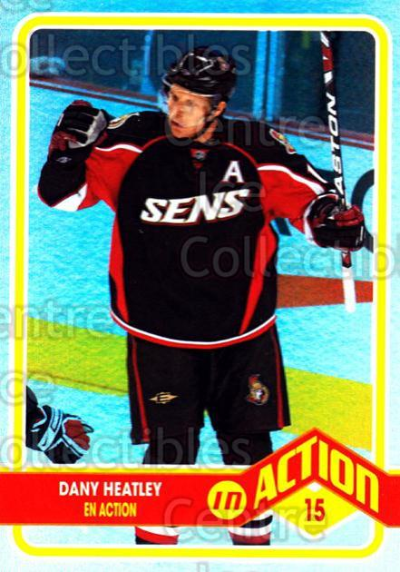 2009-10 O-pee-chee In Action #11 Dany Heatley<br/>4 In Stock - $2.00 each - <a href=https://centericecollectibles.foxycart.com/cart?name=2009-10%20O-pee-chee%20In%20Action%20%2311%20Dany%20Heatley...&quantity_max=4&price=$2.00&code=650421 class=foxycart> Buy it now! </a>