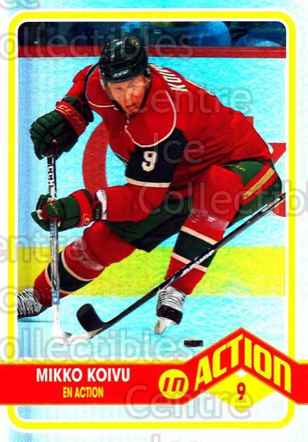 2009-10 O-pee-chee In Action #12 Mikko Koivu<br/>2 In Stock - $2.00 each - <a href=https://centericecollectibles.foxycart.com/cart?name=2009-10%20O-pee-chee%20In%20Action%20%2312%20Mikko%20Koivu...&quantity_max=2&price=$2.00&code=650422 class=foxycart> Buy it now! </a>