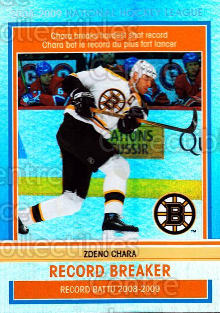 2009-10 O-pee-chee Record Breakers #1 Zdeno Chara<br/>1 In Stock - $3.00 each - <a href=https://centericecollectibles.foxycart.com/cart?name=2009-10%20O-pee-chee%20Record%20Breakers%20%231%20Zdeno%20Chara...&price=$3.00&code=650423 class=foxycart> Buy it now! </a>